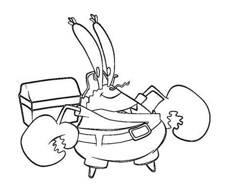 Mr L Coloring Pages by 55 Mr Krabs Coloring Pages Mr Krabs Coloring Pages
