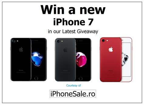 Win Our Giveaway by Win A New Iphone 7 In Our Giveaway By Iphonesale On