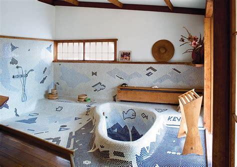 dwell bathrooms a serene nakashima bathroom survives dwell