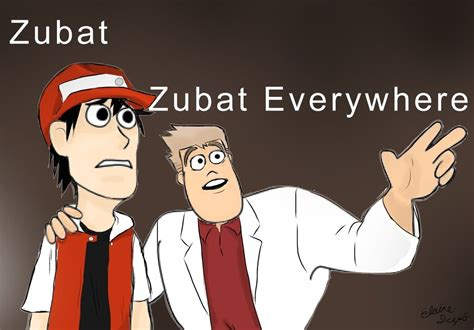 Zubat Meme - zubat everywhere meme by talishu on deviantart