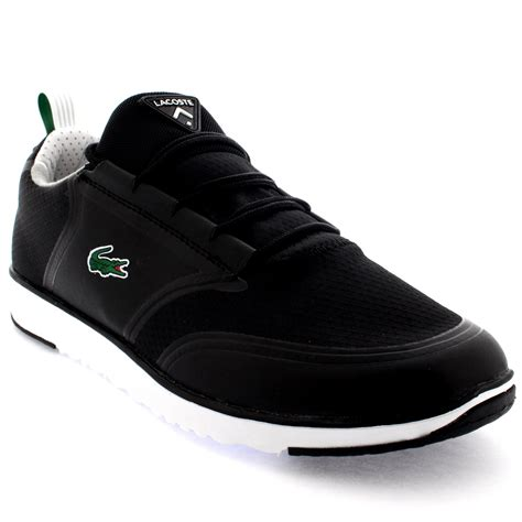 lacoste sports shoes mens lacoste light lt12 lace up low top active sports