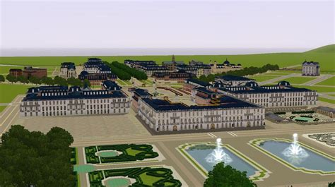 Garden Floor Plan by Mod The Sims The Palace Of Versailles All Eps No Cc
