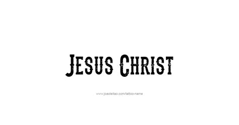 tattoo fonts jesus jesus prophet name designs tattoos with names