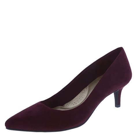womens comfort pumps dexflex comfort jeanne women s pointed toe pump payless