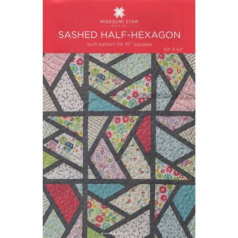 half hexagon quilt template sashed half hexagon pattern by msqc msqc msqc