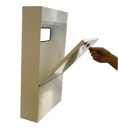 interior letter box cover anti vandal letter box