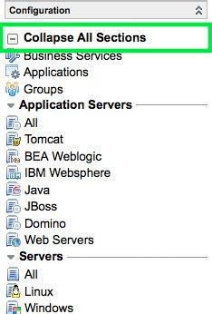 html expand collapse section expand collapse all separator modules at once servicenow