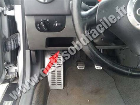Diagnosestecker Audi A4 B5 by Obd2 Connector Location In Audi Tt 8n 1998 2006