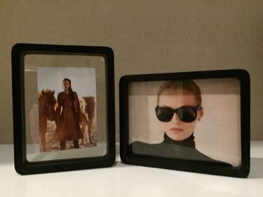 Acrylic Di Gramedia jual floating photo frame kayu bingkai foto untuk hadiah