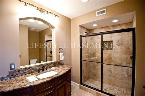 basement bathroom design basement bathroom designs basement traditional with 7 foot