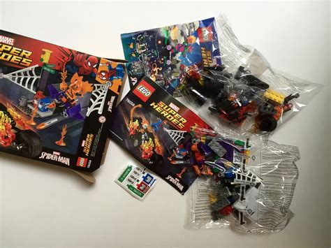Rider Set lego spider ghost rider team up 76058 review marvel
