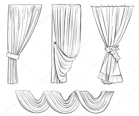curtain drawing coloring pages curtain drawing coloring pages sketch coloring page