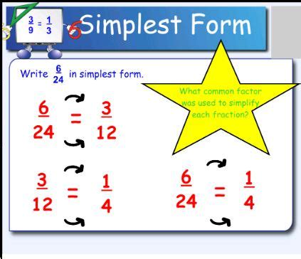 exles of fractions in simplest form simplest form illustration funky fractions