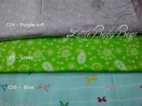Set Sarung Bantal Guling Bayi Soft Baby Green cotton my baby