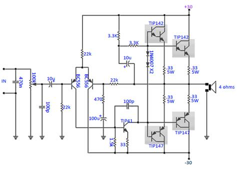 transistor darlington mosfet 3 stage lifier schematic get free image about wiring diagram