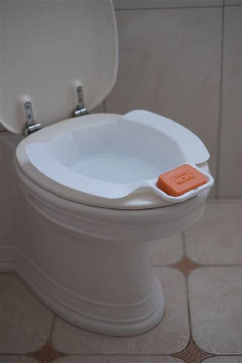 bidet klobrille mobiles bidet mit seifenablage wellys toiletten einleger