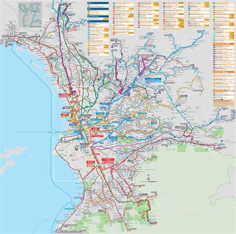 transport map marseille transport map