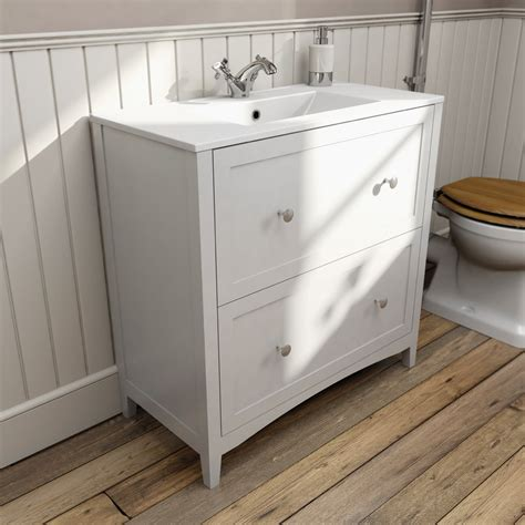 800mm vanity units for bathrooms the bath co camberley white vanity unit with basin 800mm