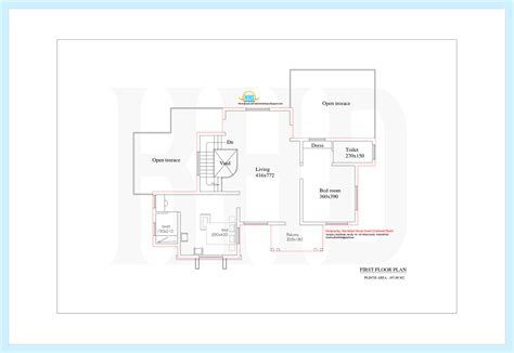 nice floor plans design luxury house 3131 sq ft 4 bedroom nice india