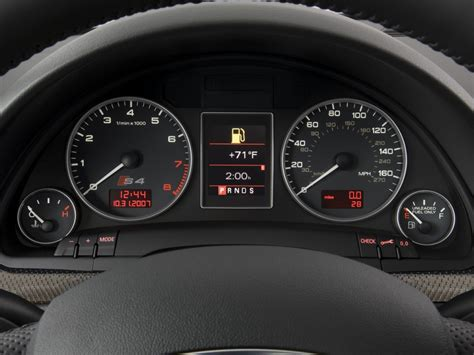 image 2008 audi s4 5dr avant wagon auto instrument cluster size 1024 x 768 type gif posted