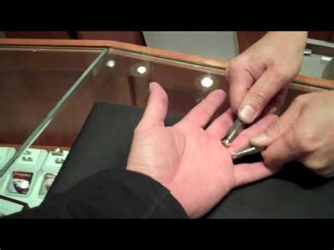 how to remove a ring with dental floss how to make do