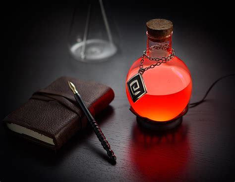 Cool Office Lighting by Led Potion Desk Lamp Thinkgeek