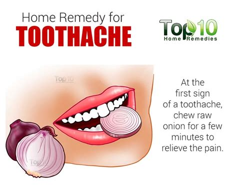 stay healthy home remedies for toothache