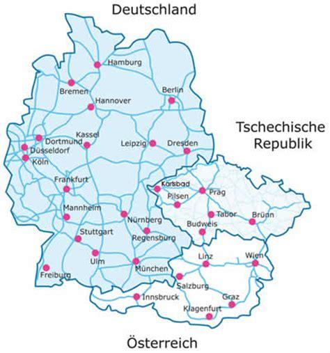 karte deutschland tschechien sch 246 nheitsoperationen ausland tschechien bahn auto flugzeug