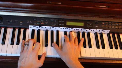pattern piano video latch disclosure piano tutorial part 1 youtube