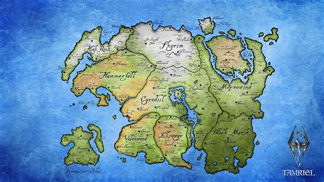 elder scrolls map skyrim map wallpapers wallpaper cave