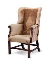 18th century antique reclining wing arm chair at 1stdibs a george iii mahogany reclining wing armchair late 18th