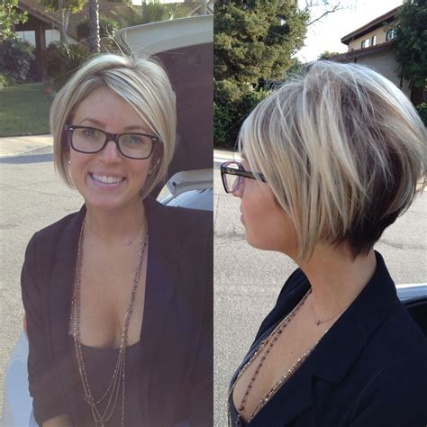 short a line styles short a line bob hairstyles i like pinterest