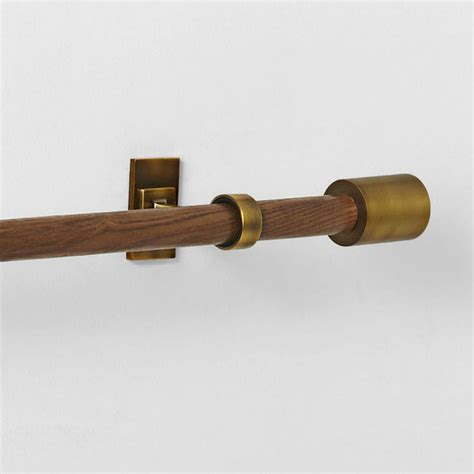 select curtain rods wood curtain rods and brackets wood curtain rods 2 inch