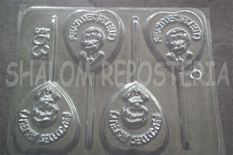 moldes para paletas de chocolate mexico molde paletas de chocolate felicidades abuelito papa