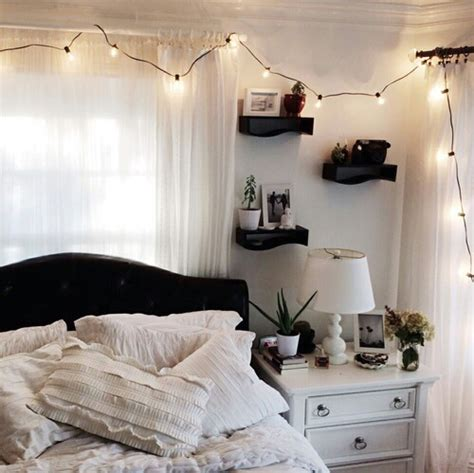 Bedroom Goals Black And White Bedroo Goals Room White Image 3922281 By