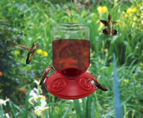 dr jbs 48oz red hummingbird feeder now available in