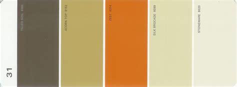 martha stewart paint 5 color palette card 31 martha