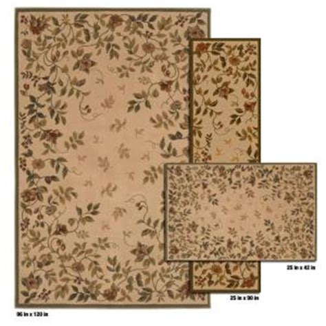 mohawk rugs discontinued mohawk home westfield camel 8 ft x 10 ft 3 rug set discontinued 299460 the home depot