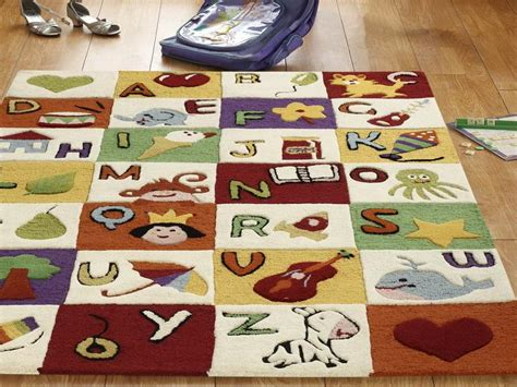 alphabet rug for room rugs ideas