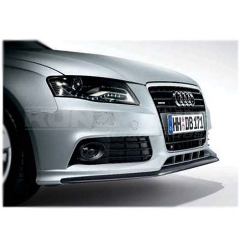 Audi Typ B8 by Front Spoiler With Blade A4 B8 Typ 8k Genuine Audi