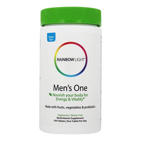 rainbow light s one multivitamin 150 tablets buy rainbow light s one food based multivitamin