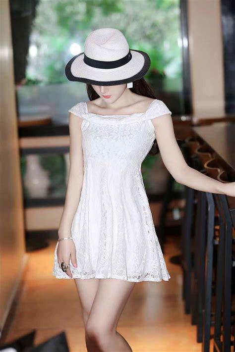 Mini Dress Terbaru Brukat mini dress korea brokat terbaru 2016 myrosefashion