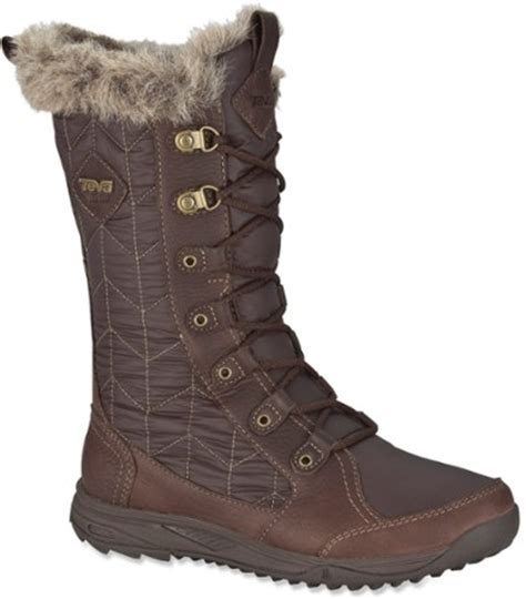 teva lenawee wp winter boots s rei