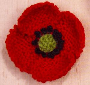 free pattern for knitted poppies free pattern knit a poppy in november the making spot