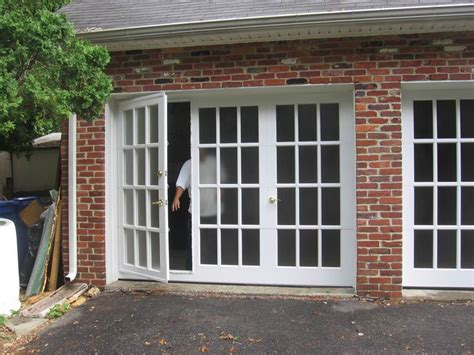garage door conversion architectural glass garage doors