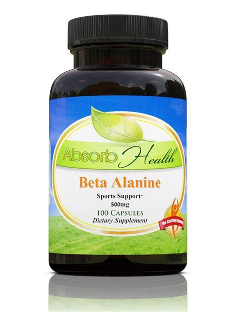 Suplemen Beta Alanine Buy Beta Alanine Capsules Build Mass Now