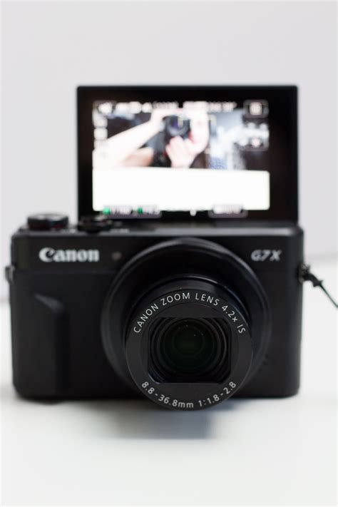 Kamera Canon G7x Ii canon powershot g7x ii reise vlogkamera