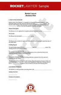 Business Plan Template For Business by Business Plan Template Free How To Write A Business Plan