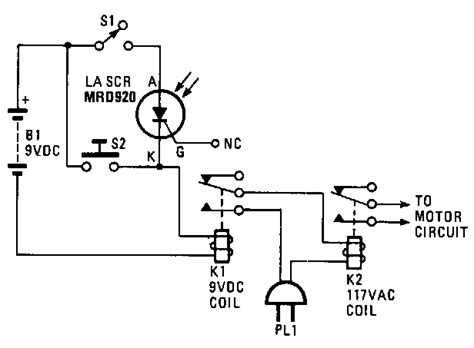 Saver Aki Motor Mobil rangkaian pembuka pintu sederhana gambar skema rangkaian