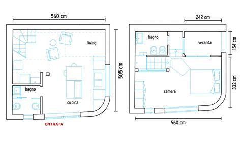 casa 50 mq planimetria casa 50 mq